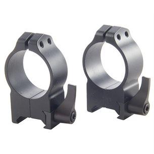 Warne Maxima QD 34mm höga ringar (snabbfästen)