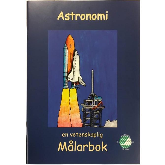 Astronomi - målarbok, kopieringsunderlag skola