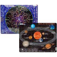 Pusselset: Solsystemet & Stjärnhimmel