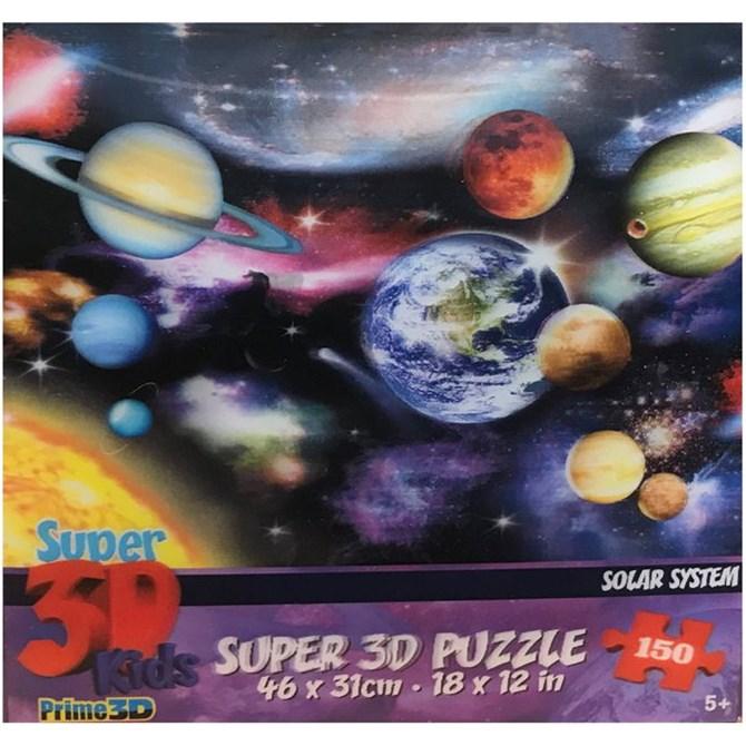 3D-pussel Solsystem