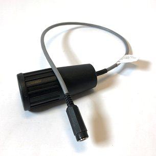 Adapterkabel 5,5 mm till ciggplugg för monteringar med ovanlig strömkontakt