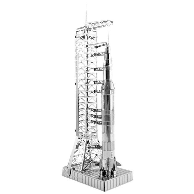 Saturn V Rocket Byggsats (3D-kopia)