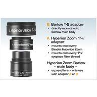 Baader-Planetarium Hyperion Zoom Barlow 2,25x