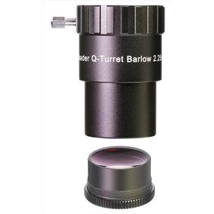 Baader-Planetarium 1,25 tum Q-Barlow - 2,25x och 1,3x
