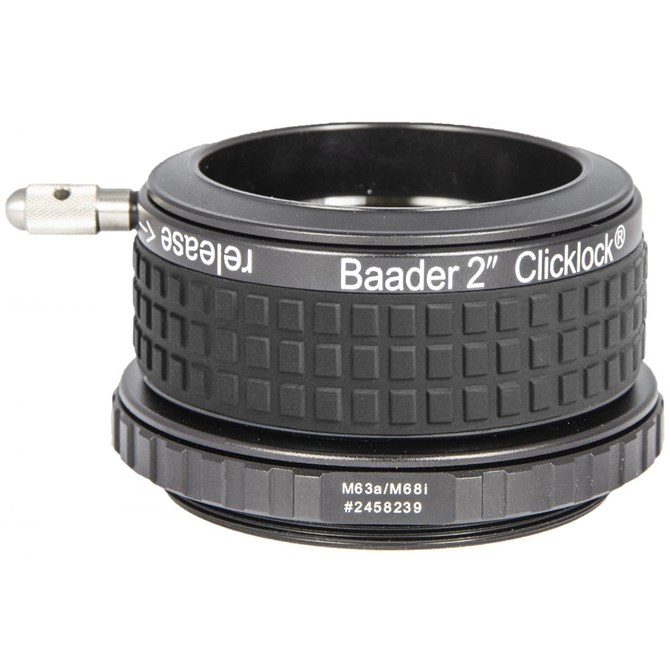 M63 ClickLock för många refraktorer med 2,5 tums fokuserare