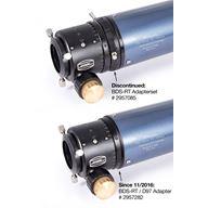 Adapter till Steeltrack fokuserare till teleskop med 97 mm innerdiameter