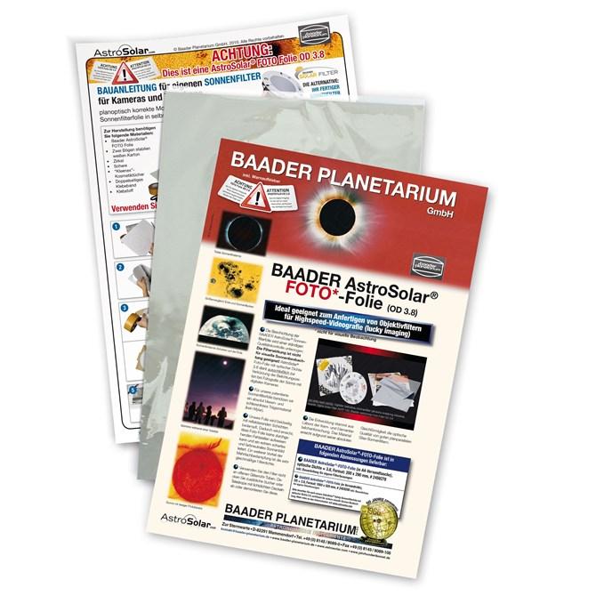 Baader-Planetarium Astrosolar folie fotografisk 25x20cm