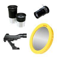 Bresser Komplettpaket Galaxia 114/900 EQ spegelteleskop med mycket tillbehör