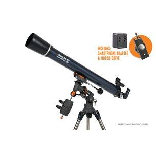 AstroMaster 80EQ-MD refraktor med smartphoneadapter & motor