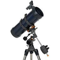 AstroMaster 114EQ-MD spegelteleskop med smartphone adapter & motor