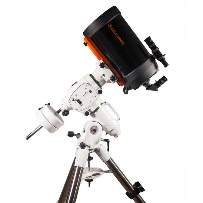 Celestron C8 Schmidt-Cassegrain på Sky-Watcher EQ6-R montering