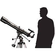 Nybörjar astrofotopaket, Evostar-90 med motor och planetkamera