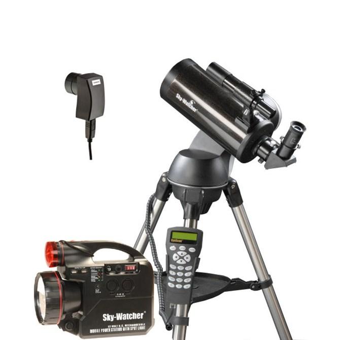Nybörjar astrofotopaket, Skymax-102 Synscan med planetkamera