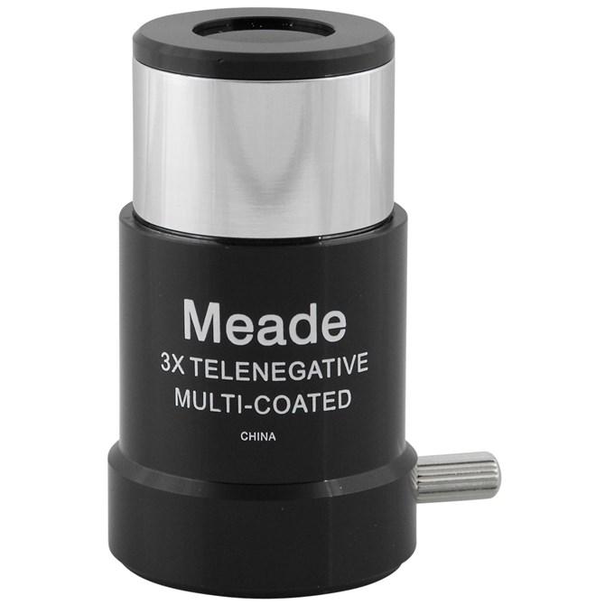 Meade #128 3x Short-Focus Barlowlins 1,25 tum