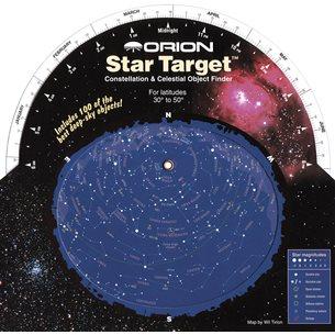 Star Target planisfär