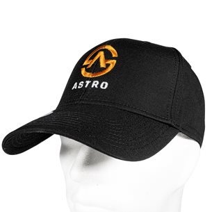 Astrokeps - svart keps med Astro Sweden logga