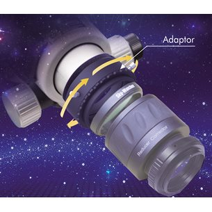 Sky-Watcher EvoFrame rotationsadapter till Evostar field flattener
