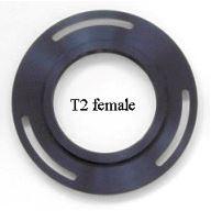 T2 adapter, hona, för Starlight Xpress filterhjul