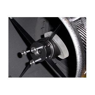 TS-Optics tumskruvar för justering av sekundärspegeln utan verktyg