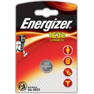 Energizer Batteri CR1632 Lithium 3V 1 Pack