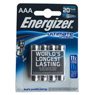 Energizer Batteri AAA Lithium 1,5V 4 Pack