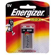 Energizer Batteri 9V Alkaliskt 1 Pack