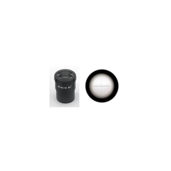 Mätokular - stereomikroskop, WF10x/20 mm
