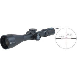 March Tactical 2.5-25x52 SFP MRAD belyst