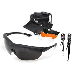 Edge Overlord Kit - Clear, Tiger´s Eye, G-15, Polarized Gradient Smoke