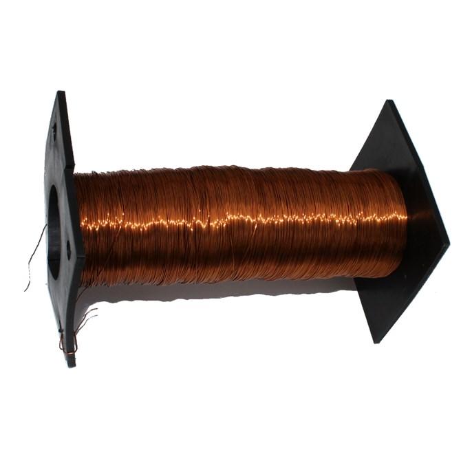 Lackad Koppartråd - d=0,40 mm. ca 250 m