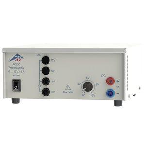 Spänningsaggregat, AC/DC 0-12 V