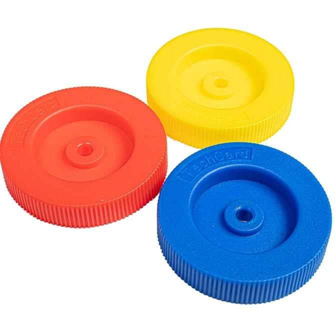 Plasthjul - 100 st