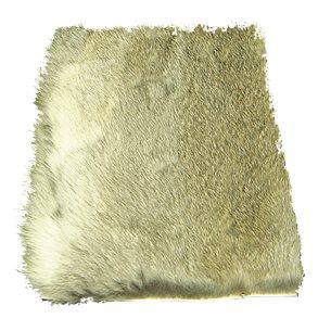 Kaninskinn - Ca 10 x 20 cm