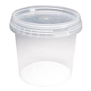 Plastburk transparent - 10 st, 365 ml