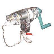 Vevgenerator med glödlampa