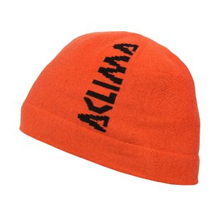 Aclima WarmWool Jib Beanie Unisex Poinciana Orange, stl L