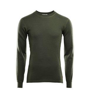 Aclima WarmWool Crew Neck shirt Man Olive Night