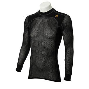 Aclima WoolNet Crew Neck Shirt Men Jet Black