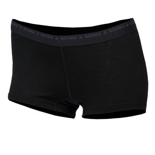 Aclima LightWool Hipster Woman Jet Black