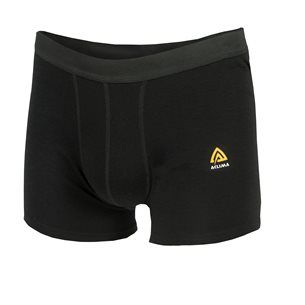 Aclima WarmWool Boxer Shorts Man Jet Black