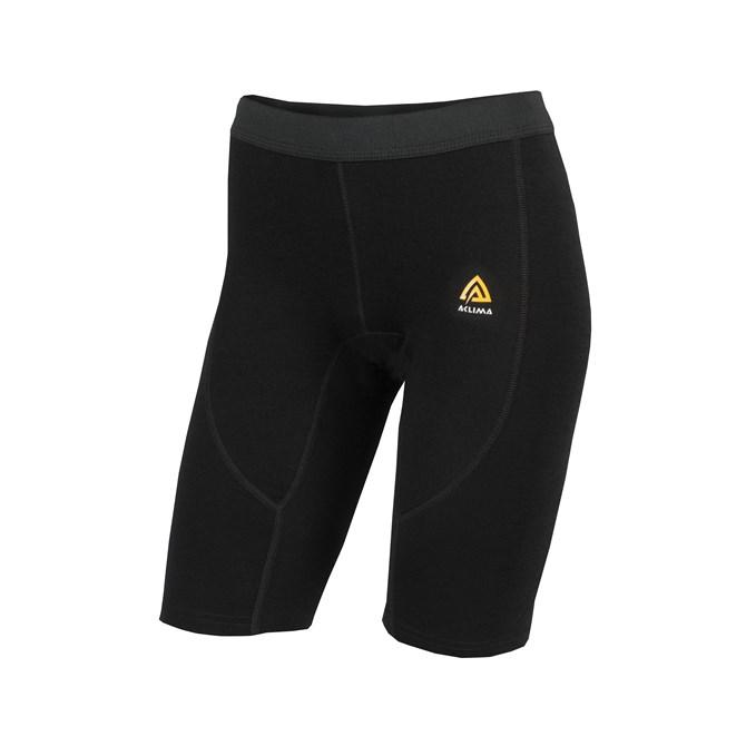 Aclima WarmWool Shorts (long) Woman Jet Black
