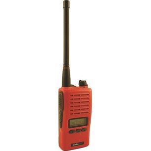Jaktradio 155mhz Albe-X5. Röd. 5watt. IP67