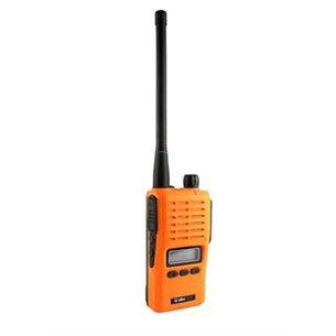 Jaktradio 31mhz Albe-X7. Orange. 5watt. IP67