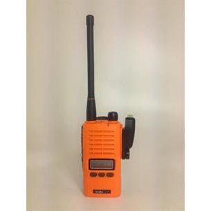 Jaktradio 155mhz. Albe-X8. Orange. 5watt. IP68