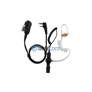 Mini Headset LGR76-SV slang. Secretservice PTT