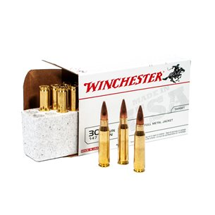 Winchester 308w FMJ 147gr 20st/ask