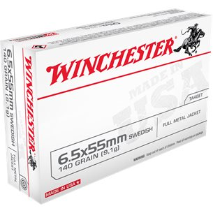 Winchester 6.5x55 FMJ 140gr 20st/ask