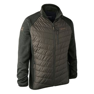 Deerhunter Moor Padded Jacket with knit Timber