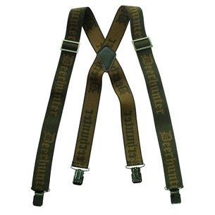 Deerhunter Hängslen med clips Grön 120 cm