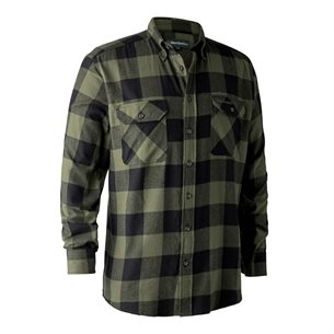 Deerhunter Marvin Flanell Shirt Green Big Check